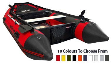 North Sea One-Colour Inflatable Boat in Red
