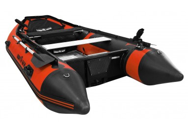 North Sea One-Colour Inflatable Boat in Orange